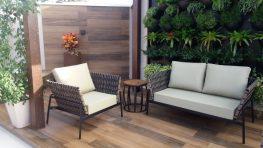 Conjunto de sofá Trançare